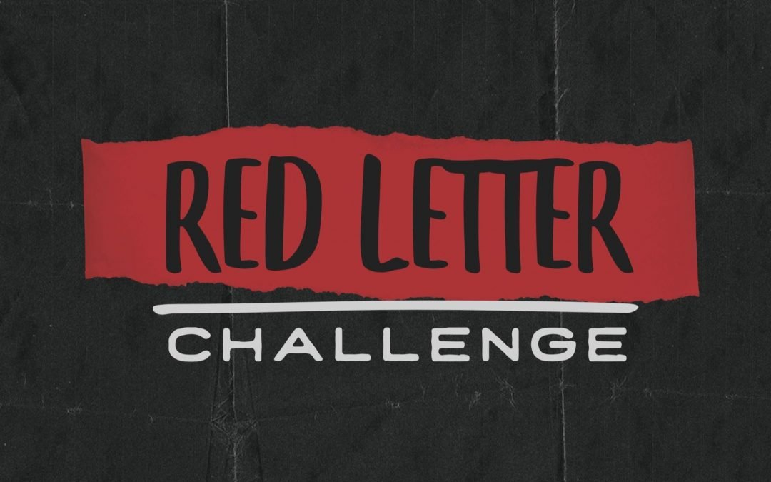 Red Letter Challenge: Going
